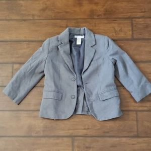 Janie and Jack 4T gray suit coat